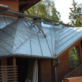 Kispe Oy arkkitehdin uniikki katto